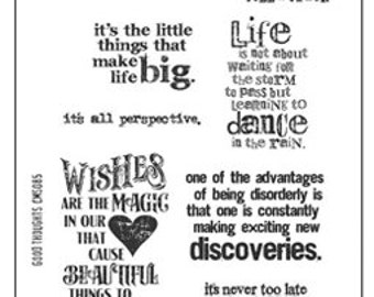 """Sale-Pre-Order- TIM HOLTZ®  Stampers Anonymous Stamp Set - """"Good Thoughts""""---Pre-Order Now"""