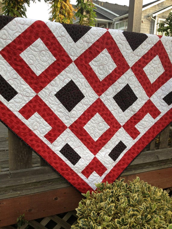 Jack of Hearts Quilt Pattern - Paper Pattern