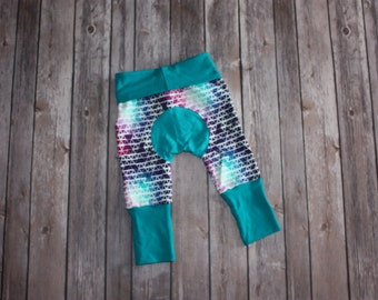 Miniloones Grow With Me Pants Rainbow Baby Leggings