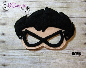 Robin * Teen Titians Go Inspired Childrens Dress Up Mask