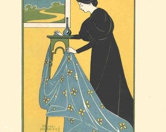 Henri Meunier-Gonthier-Meymans-1897 Lithograph