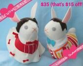 VALENTINE SALE OTP Any Bunny Pair