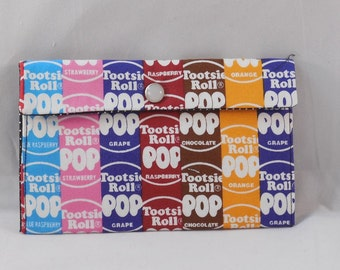 Fabric Pouch Made With Tootsie Pop Inspired Fabric