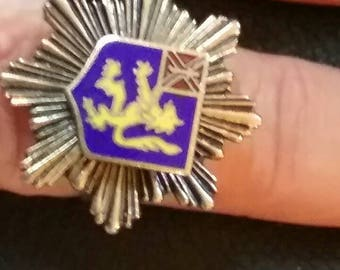 Antique French Crest Ring