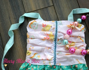 Little Lady's Melody Romper  0-3m- 8