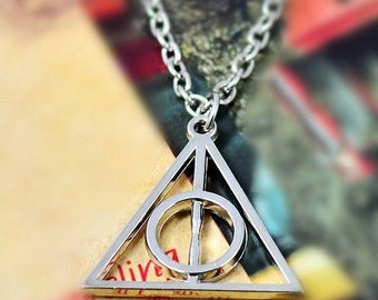 Harry potter necklace, relics of death