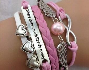 OFFER !!! Harry potter bracelet, smith pink
