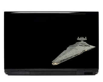 Star Wars Imperial Star Destroyer Vinyl Laptop or Automotive Art FREE SHIPPING, netbook notebook sticker stickers decals scifi laptop art