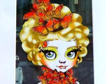 """Effie Trinket """"Game of Thrones'  11x14"""" Art Print"""