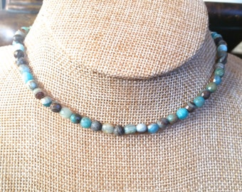 Beaded Choker Necklace, Trendy Jewelry, Beach Vibe, Choker, Bohemian Jewelry