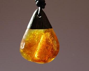 Unique Baltic amber Pendant