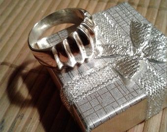 Men's Ring Size 11 Sterling Silver