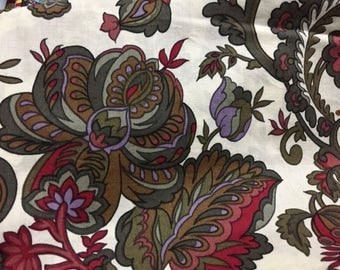 Floral Fabric – by the Half Yard