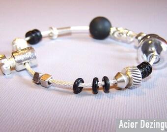 Bracelet steel Dezingue Bangle ref: BR-AR-002