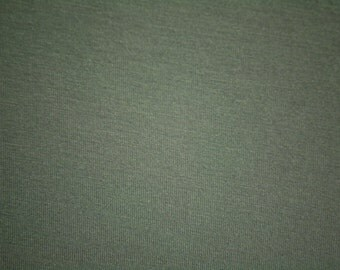 "Gray Bamboo Spandex Jersey Fabric 60"" Wide Per Yard"