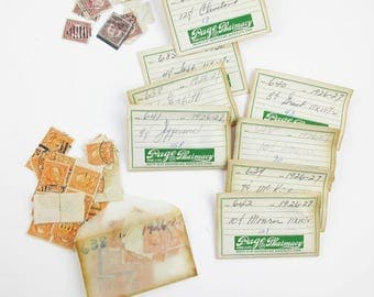 Instant Stamp Collection - Paper Envelopes Full of Postmarked Stamps  - 671 U.S. President Stamps - Philatelic - Stamp Collecting Hobby