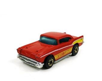 57 Chevy Hot Wheels Car Vintage 1976 Mattel
