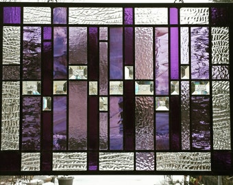 Purple Stained Glass Number 1