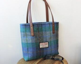 Harris Tweed tote bag, shopper, Harris tweed handbag. Purse in Harris Tweed Shoulder bag