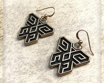 On Sale Dreamayan Bronze Mariposa Cósmica Talisman Earrings