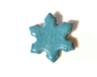 MG Awareness Teal Snowflake Jewelry, Myasthenia Gravis