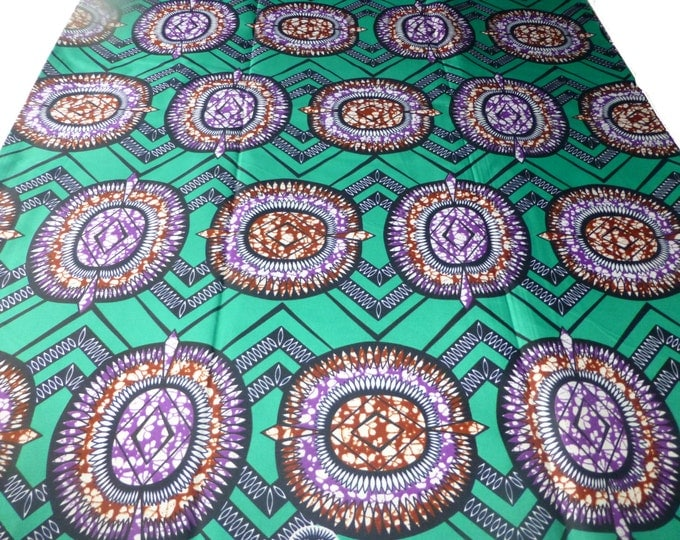 African Fabrics Super Wax Print Fabrics For Sewing, Fabrics For Dress Making Kitenge/Pagnes/Ankara /ChitengeSold By The Yard 162353711262