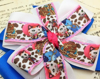 Pink Boutique Hairbow, Boutique Hairbow, Hairbow, Pink Hairbow
