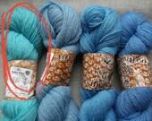 Hand knit wool fingerless, custome order