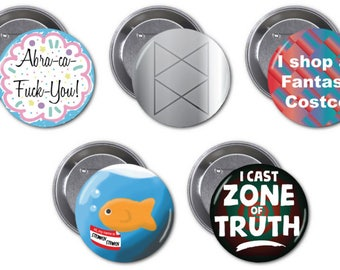 "Adventure Zone 2 1/4"" pinback buttons"