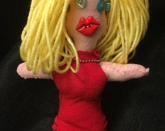 Kellyanne Conway VooDoo doll