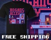 Alley Hogans T-Shirt Mens & Ladies * Free Shipping * Great Gamer Gift