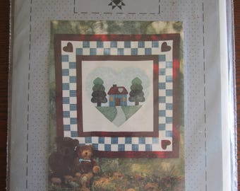 Home Sweet HOme Quilted Wall Hanging Pattern