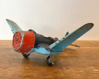 Toy Airplane - Collectable Toys - Nostalgic Toys - Diecast Airplanes - Kids Room Decor - Vintage House Decor - 1960s Toys
