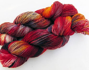 Handdyed SockYarn, 75 Wool, 25 Nylon 100g 3.5 oz. Nr. 732