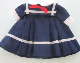 Lillian Vernon Sailor Dress for 12 Inch Doll Tagged