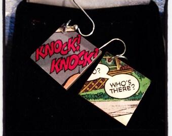 Knock Knock Earrings