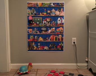 I Spy Life Size Puzzle Game Poster Book
