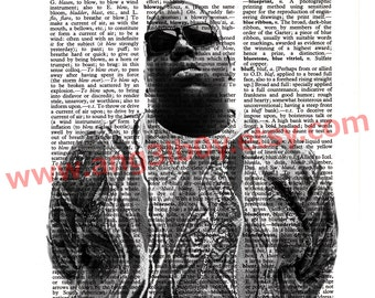 Biggie Dictionary Print