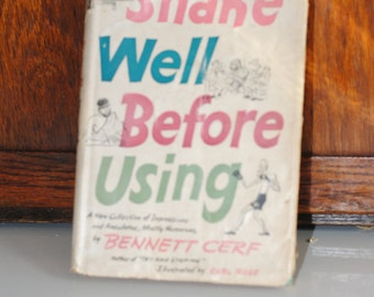 Shake Well Before Using Hard Cover Book