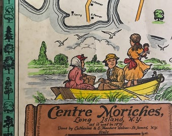 Vintage Catherine & E Theodore Nelson Print