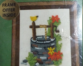 Never Opened Jiffy Stitchery Well Designed by Connie Blyler Number 260 Sunset Designs