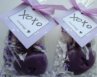 10 Fish Bone Soap Favors, XoXo Party Favors, Birthdays, Special Occasion Favors