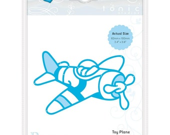 Rococo by Tonic Studios Craft Die Toy Plane Airplane