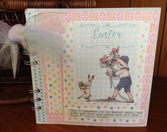 Easter is on the Way - Mini chipboard album