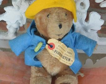 Paddington Bear, Small - Eden Toys,  Peru to England - Vintage - Fabulous!