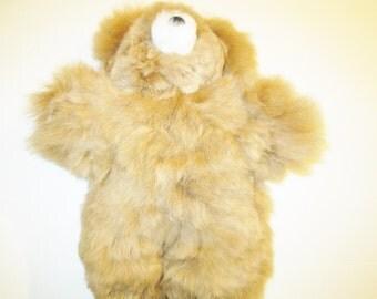 Georgeous Cuddling Baby Alpaca Fur Teddy  Bear From Peru