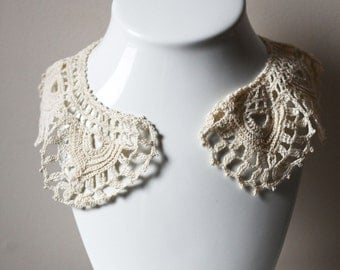 Antique Lace collar // lace collar // antique collar