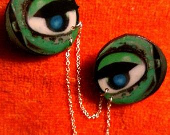 Doll Eyes Collar Pins