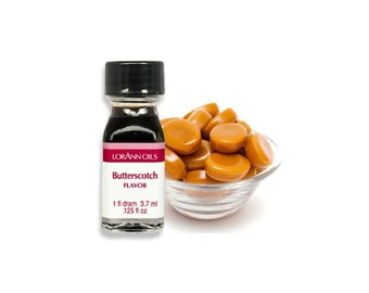 Butterscotch LorAnn Oils and Flavors - Baking Supplies Candy Making Food Crafting