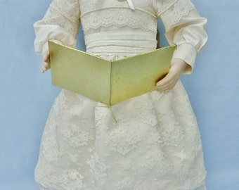Caroler Beth porcelain doll